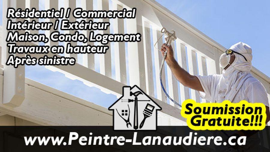 Peintre Lanaudière peinture Repentigny Terrebonne Mascouche lassomption résidentiel commercial