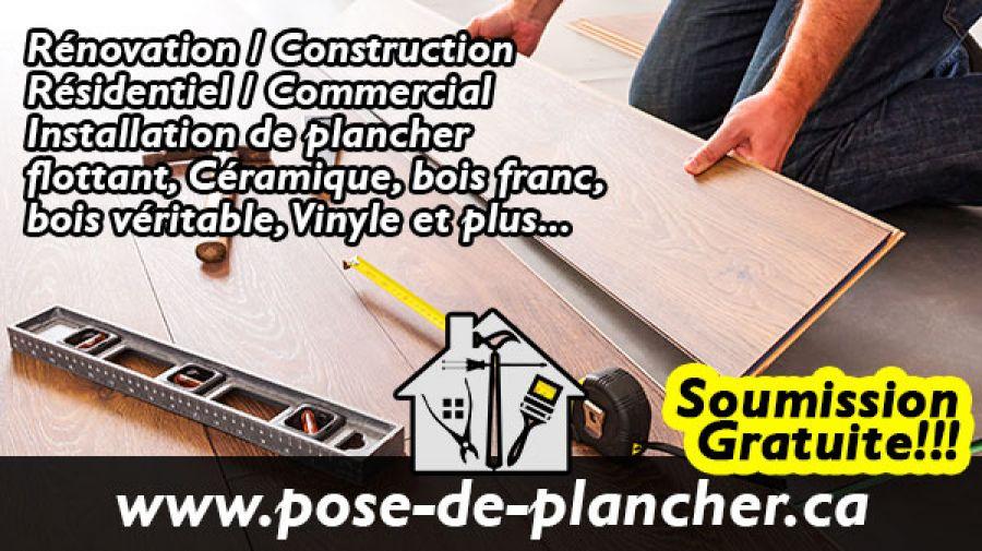 Pose-de-Plancher.ca Service d'installation de plancher résidentiel commercial